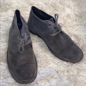 John varvatos suede shoes